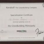 certificate_kerakoll